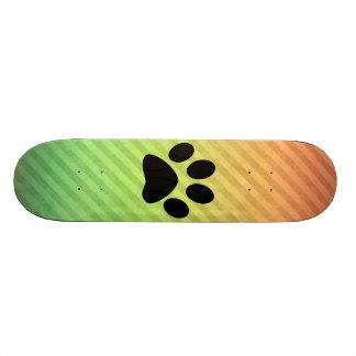 Paw Print 19.7 Cm Skateboard Deck