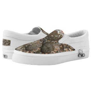 Paw Print Slip on Canvas Shoes Printed Shoes
