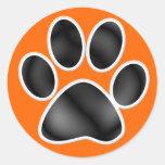 Paw Print - SRF Round Sticker