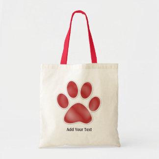 Paw Print Tote ... : ) SRF Budget Tote Bag