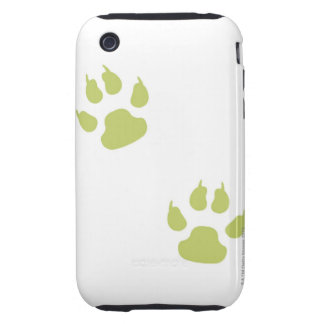 Paw Prints Tough iPhone 3 Cases
