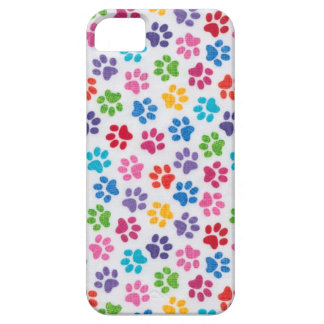 paw prints iPhone 5 case