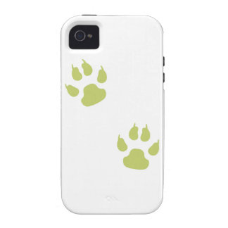 Paw Prints Vibe iPhone 4 Cover