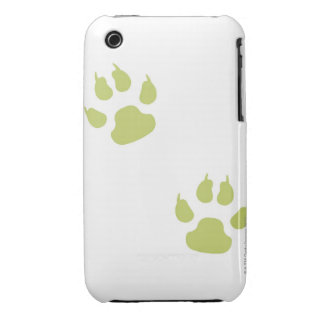 Paw Prints iPhone 3 Covers