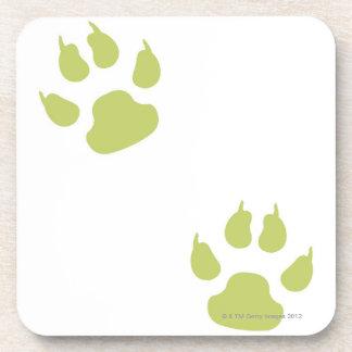 Paw Prints Coaster