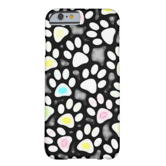 Paw Prints Collage Barely There iPhone 6 Case