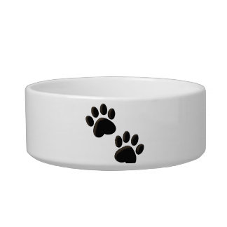 Paw Prints Dog Bowl