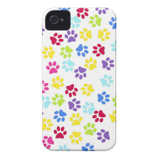 Paw prints dogs cats dog cat print animal pet pet iPhone 4 cases