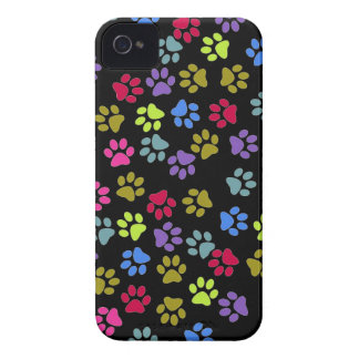 Paw prints dogs cats dog cat print animal pet pet Case-Mate iPhone 4 case