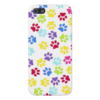 Paw prints  dogs cats dog cat print animal pet pet iPhone 5/5S covers