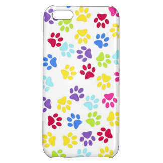 Paw prints  dogs cats dog cat print animal pet pet cover for iPhone 5C