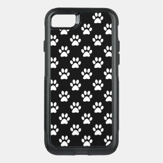 Paw prints in White OtterBox Commuter iPhone 8/7 Case