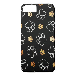 Paw Prints iPhone 7 Case