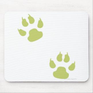 Paw Prints Mouse Pad