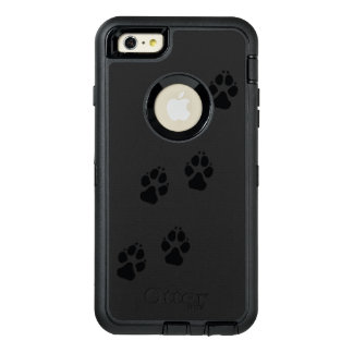 Paw prints of a dog OtterBox defender iPhone case