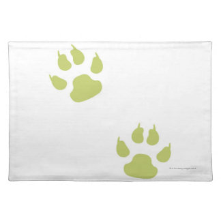 Paw Prints Placemat