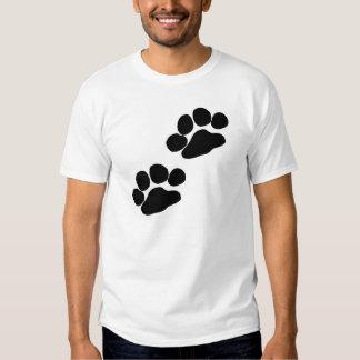 Paw Prints Tee Shirts