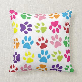 Paw Prints Throw Cushions