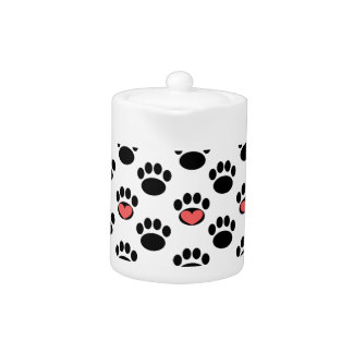 Paw Prints with Hearts