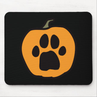 Paw Pumpkin Mousepad