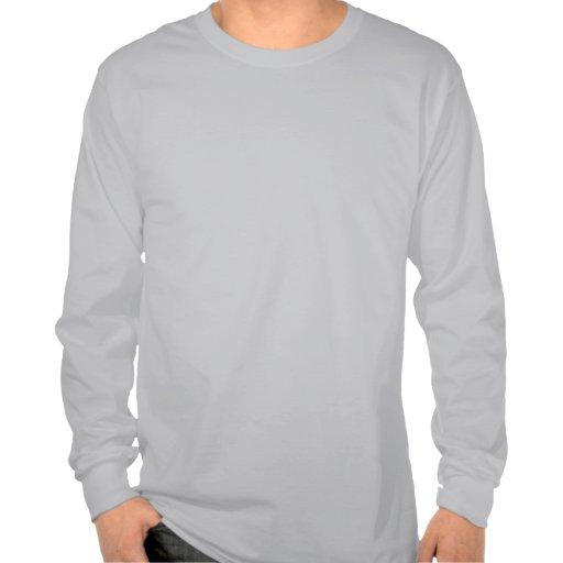 Paw Track Animal Care Mens Long Sleeve T-shirt