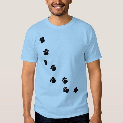 Paw Tracks Moms T-shirt
