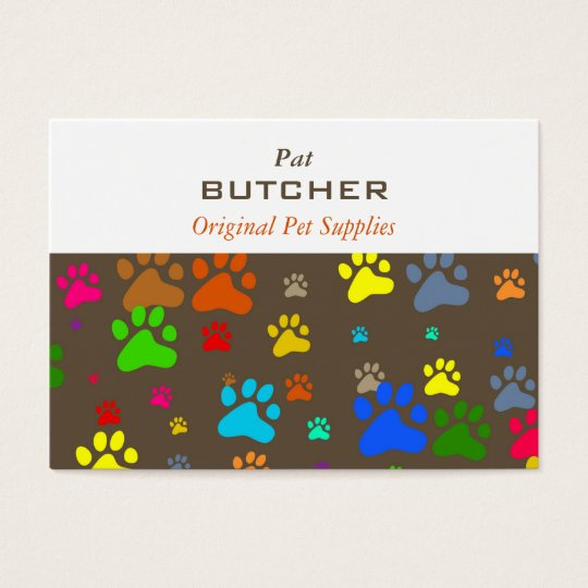 Paw Wallpaper Business Card