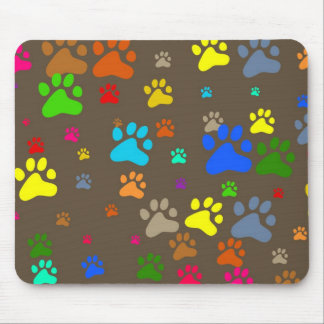 Paw Wallpaper Mouse Pad