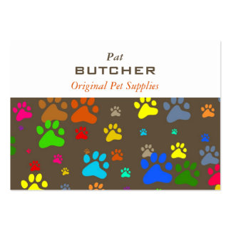 Paw Wallpaper Pack Of Chubby Business Cards