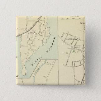 Pawcatuck, Noank, Lyme 15 Cm Square Badge