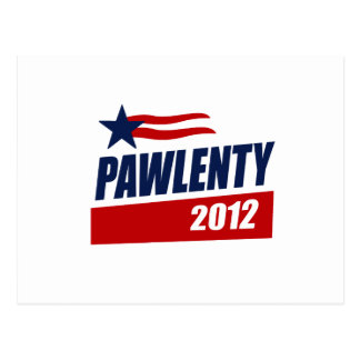 PAWLENTY 2012 CAMPAIGN BANNER POST CARDS