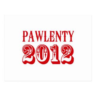 PAWLENTY 2012 T-SHIRT POSTCARD