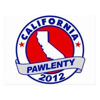 Pawlenty - california postcard