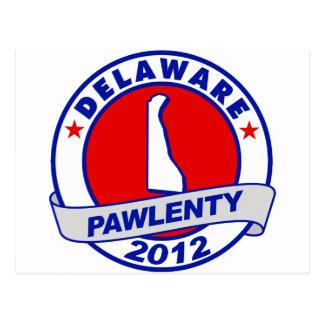 Pawlenty - delaware postcard