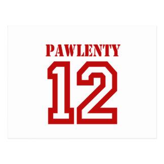 PAWLENTY IN '12 POSTCARD