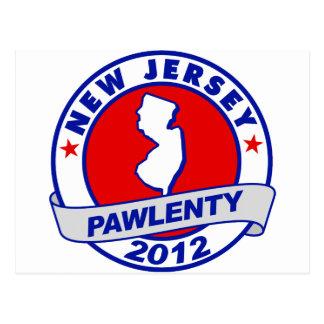 Pawlenty - new jersey postcard
