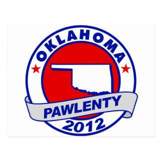 Pawlenty - oklahoma postcard