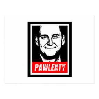 PAWLENTY POSTCARD