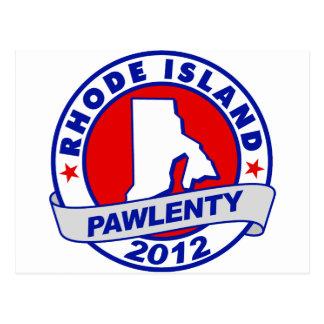 Pawlenty - rhode island postcard