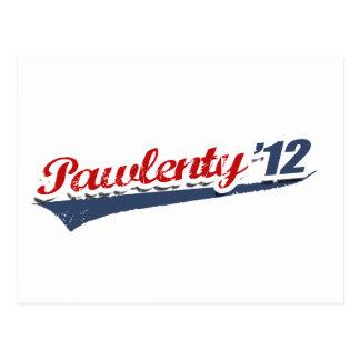 Pawlenty Team Postcard