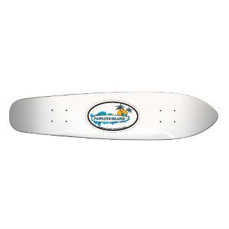 Pawleys Island. 19.7 Cm Skateboard Deck