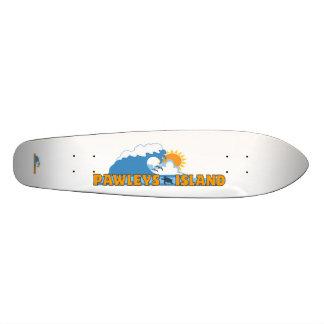 Pawleys Island. 21.6 Cm Old School Skateboard Deck