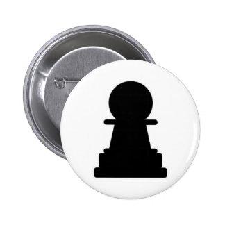 Pawn 6 Cm Round Badge