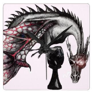 pawn dragon wall clock