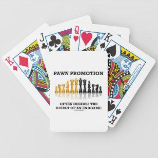 Pawn Promotion Often Decides The Result Endgame Poker Deck