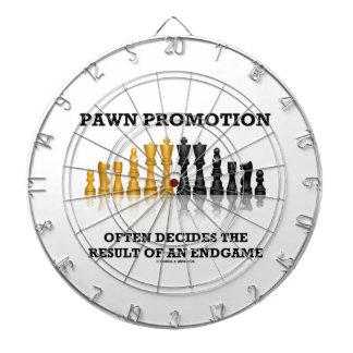 Pawn Promotion Often Decides The Result Of Endgame Dartboards