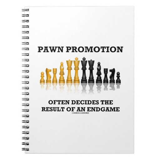 Pawn Promotion Often Decides The Result Of Endgame Notebooks