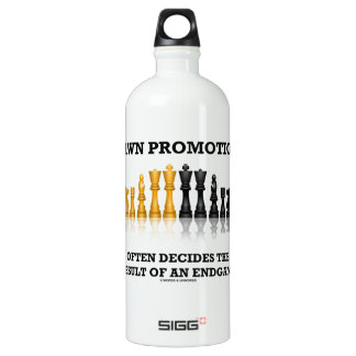 Pawn Promotion Often Decides The Result Of Endgame SIGG Traveller 1.0L Water Bottle