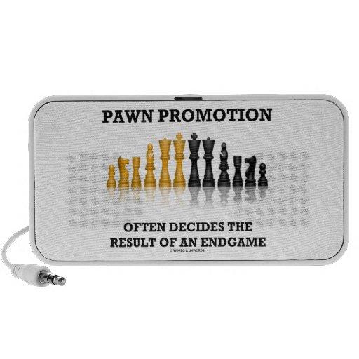 Pawn Promotion Often Decides The Result Of Endgame Mini Speaker