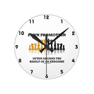 Pawn Promotion Often Decides The Result Of Endgame Wallclocks